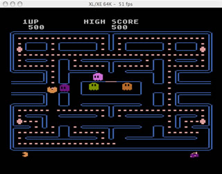 Atari 8Bit and Mac - Atari800MacX
